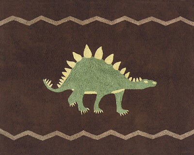 Boys Baby Kids Room Floor Rug for Sweet Jojo Designs Brown Dinosaur Bedding Sets