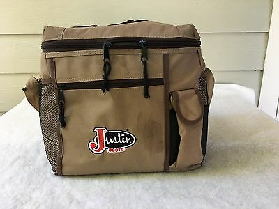 Justin Boot Bag; Rodeo, PRCA, horse riding