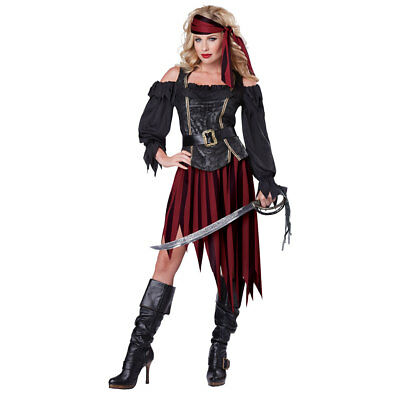 Womens Queen of the Seas Halloween Costume