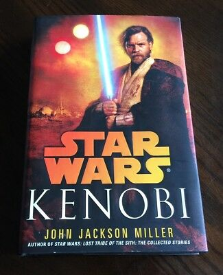 Kenobi by John Jackson Miller Star Wars Novel Book 1st First Edition Printing