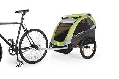 Burley D'Lite Child Bicycle Trailer Green RRP £750.00