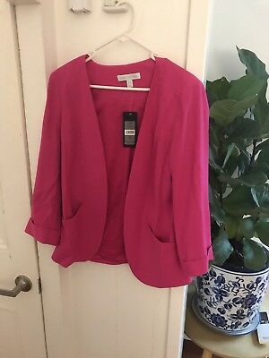 Hot Pink Forever New Blazer Size 10