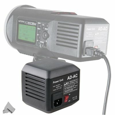 Godox AD-AC AC Power Adapter with Cable for Godox Flashpoint Flash Strobe Light