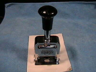 Cosco Numbering Machine C-71 Self Advancing Ink Stamper