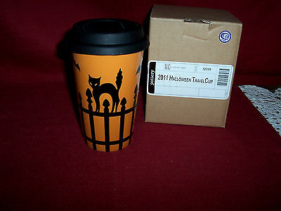 Longaberger 1 HALLOWEEN TRAVEL CUP!   NIB!   BUY IT NOW!   NEW LOW PRICE!  L@@K!