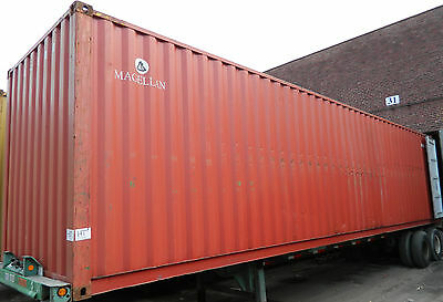 40 Standard Steel Cargo Shipping Storage Container Minneapolis MN Containers