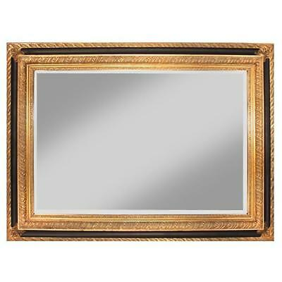 NEW Zavanna Black & Gold Wall Mirror Luxury Mirrors