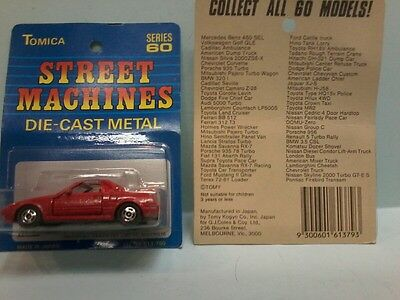 Tomica Street Machines Toyota Sv3  Red .made For G.j Coles  Melbourne Australia
