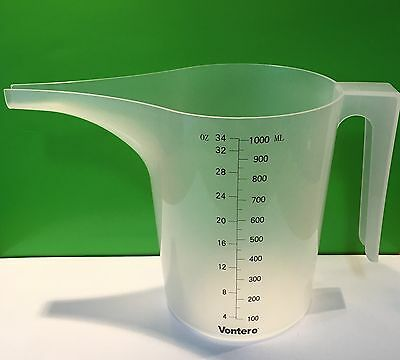Candle and Soap Making Plastic Measuring 1 Litre Pouring Jug