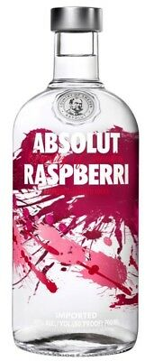 Absolut Rasberri Vodka (6 x 700mL) 40% Alc.