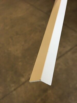 Aluminium Extrusions 12 x 20mm Angle 3.25m Surf Mist Off White Coolroom Panel