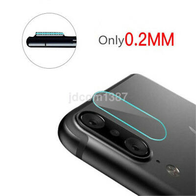 Ultra Slim Rear Back Camera Lens Tempered Glass Protector Kit Film For iPhone X