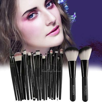 22pcs Makeup Brushes Set Powder Foundation Eyeshadow Lip Brush Cosmetic Tool Kit