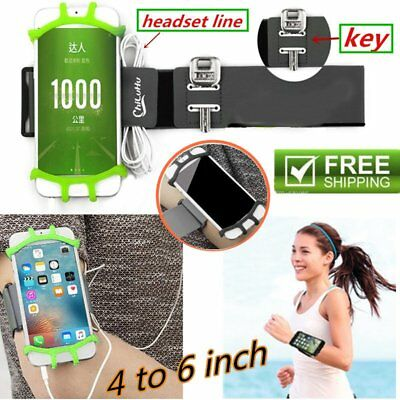 Universal Wristbands Case Running Jogging Armband Sports Holder For Cell Phone P