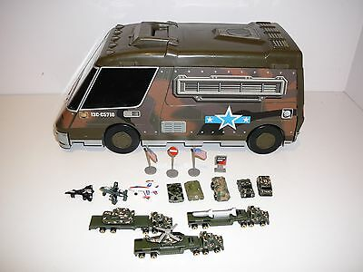 Micro Machines Army Playset Truck Galoob Toys 1991 Tanks Aircraft Vehicles