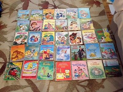 Little Golden Books Bulk Vintage X 33