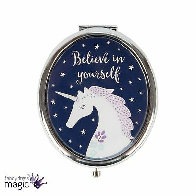 Sass Belle Starlight Unicorn Stars Compact Purse Pocket Cosmetics Mirror Gift