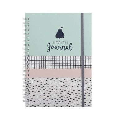 2 x Health Journal Tracker Diet Exercise Lifestyle Weight Loss Diary Christmas