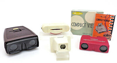 4x Lot Slide viewer Lipcascop Diabetrachter Sawyers Minette, OVP it064