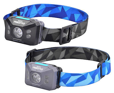 SPRO Freestyle Sense Optics Blue/Black LED Sensor Kopflampe mit UV Licht