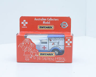 "Matchbox MB-38, Model A Ford, ""RED CROSS, CHILDREN HOSPITAL""   2279"