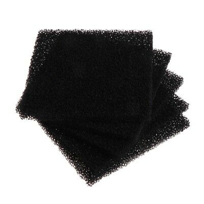 5Pcs Activated Carbon Foam Sponge Air Filter Impregnated Sheet Pad Universal