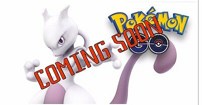 Pokemon Go Capture Service. Legendary Mewtwo. Including EX pass.
