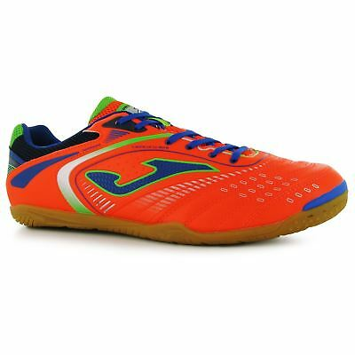 Joma Maxina Indoor Trainers Mens Or/Blue Football Soccer Fusbal Shoes Sneakers