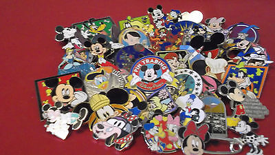 Lot of 25 Disney Trading Pins--Misc. Assort.--Free Shipping--No Doubles--J19