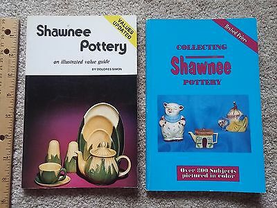 Pair Softcover Shawnee Pottery Illustrated Value Collecting Guides Simon Supnick