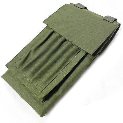 Bulldog Military Army Hiking Cadet Folding Map Case Cover Pouch Holder OD Green