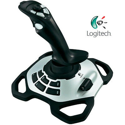 Logitech Extreme 3D Pro Precision Joystick Gaming Programmable Controller USB