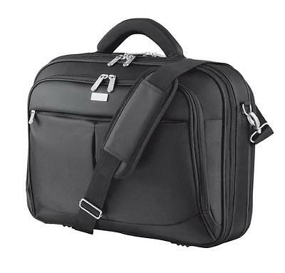 """Trust 15-16"""" inch Sydney Laptop Black Notebook Strong Carry Case Cover Bag 17412"""