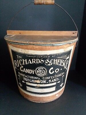 Vintage Candy Tub From The Richards-Scheble Candy Co. in Hutchinson, Kansas