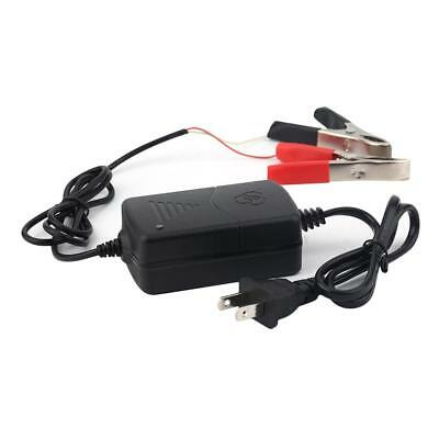 12V Portable Battery Charger Maintainer Tender for Motorcycle Car RV Boat ATV MT