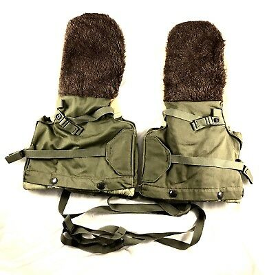 NEW Military Issue OD Green Arctic Mittens Extreme Cold Weather Gloves