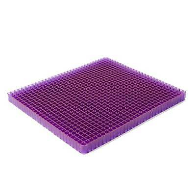 The Portable Purple No Pressure Seat Cushion Lightweight Comfortable Low Profile