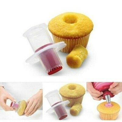 1 PC Cake Cupcake Plunger Corer Decoration Cake Core Remover Kit Kitchen Tool