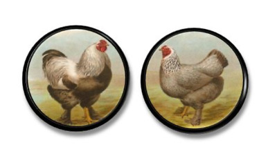 Farmhouse Kitchen Cabinet Knob   Vintage Inspired Hen U0026 Rooster Drawer Pull