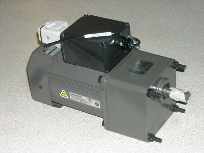 Panasonic 5:1 270 rpm AC 3 phase 220V gear motor gearbox assembly