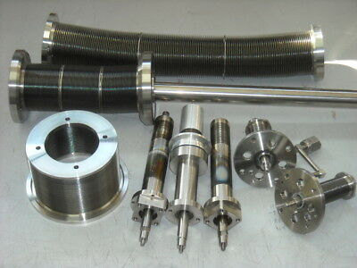 Selection of hi vacuum stainless steel bellows