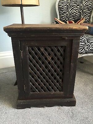 Solid Wood Free Standing Cabinet Cupboard Unit With 2 Shelves ~ Collect BD11