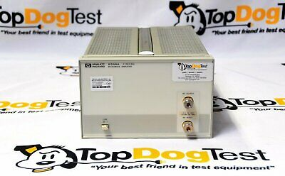 Hp Agilent Keysight 8348A Microwave amplifier  26.5 GHz, ±10 VDC, +20 dBm RF