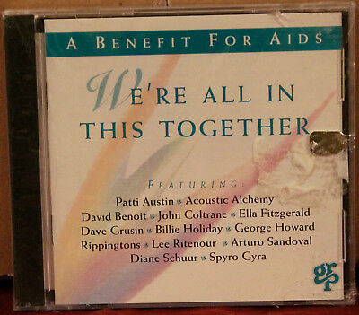 GRP CD: We're All in This Together: Group AIDS Benefit by Various - 1993 SEALED
