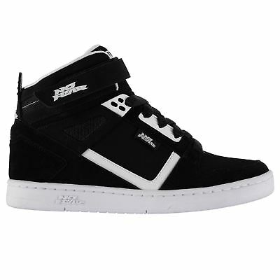 No Fear Elevate Skate Shoes Juniors Black Trainers Sneakers