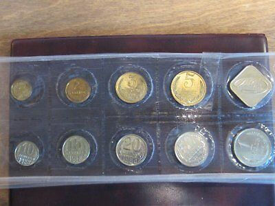 1988 USSR Leningrad Mint Nine Coin Mint Set