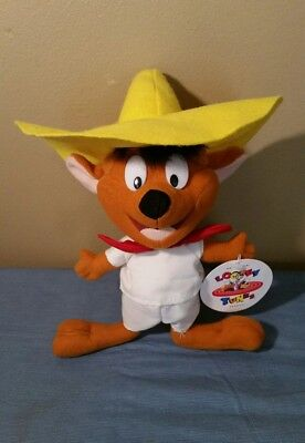 1997 Warner Bros. Looney Tunes SPEEDY GONZALES Plush With Tag 12""