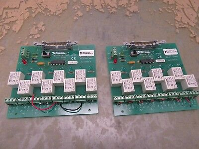 lot of 2x national instruments SC-2062 relay boards [3*I-42.5]