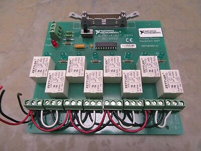 national instruments SC-2062 relay board [2*E-10.5]