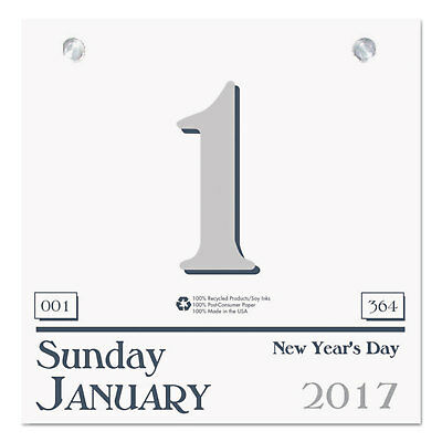 HOUSE OF DOOLITTLE Recycled Today Wall Calendar Refill 6 x 6 2018 311